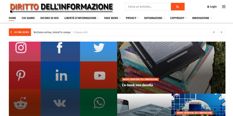 Fake news e privacy, online il nuovo portale dedicato al diritto dell'informazione