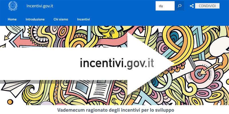 """Incentivi.gov.it, online la """"guida"""" per gli investimenti di Pmi e startup innovative"""