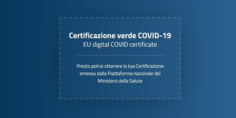 Green pass, online la piattaforma dgc.gov.it: 'Presto potrai ottenere la tua certificazione'